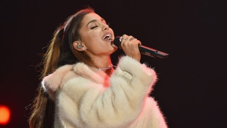 Photo Of A Dirty, Bloodied Ariana Grande Making The Rounds After Attack In Manchester Is Fake