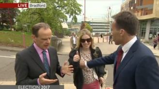 BBC Reporter Gets Slapped By Woman After 'Accidentally' Grabbing Her Breast