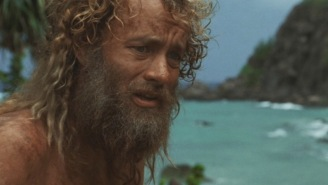 Bro Receives Epic Tom Hanks In 'Castaway' Care Package After Telling Dollar Shave Club He's Canceling
