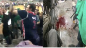 Wizards Fan Puts Celtics Fan To Sleep With Vicious Haymaker In Short But Sweet Stadium Fight