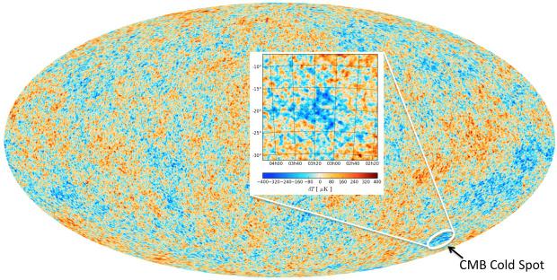 Cold Spot Parallel Universe