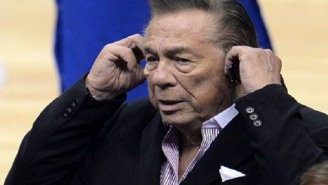 83-Year-Old Ex-Clippers Owner Donald Sterling Spotted Out With New Side Chick