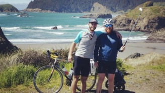 Bros Ride Their Bikes 800 Miles In From Oregon To Cali, Playing 17 Golf Courses Along The Way