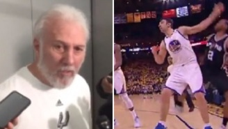 Pissed Off Spurs Coach Gregg Popovich Blasts Zaza Pachulia For History Of Dirty Play