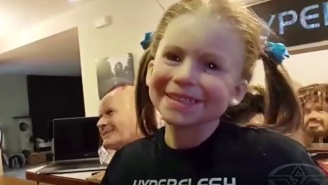 This Guy Wearing A SUPER-Realistic Little Girl Mask Is About The Creepiest Thing Ever
