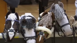 1,000 Spectators Showed Up To Watch The Most Embarrassing Sport Ever Created: Hobby Horse