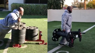 James Harrison Is NOT Human, And At 39-Years-Old He Still Works Out Harder Than Anyone