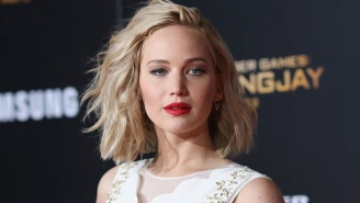 Jennifer Lawrence Crawling Around And Riding The Pole At A Strip Club? Sounds Like A Party