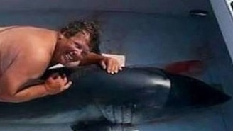 Naked Man Photographed Hugging A Shark Is Apparently A Former NYC Police Officer And Not Jim McElwain