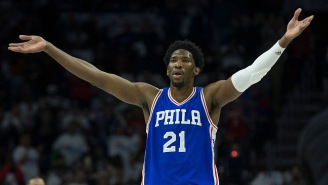 Sixers' Joel Embiid Yells Out 'F**k LaVar Ball' During Instagram Live Stream