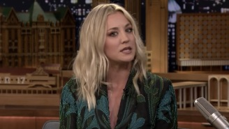 Kaley Cuoco Singing 'The Big Bang Theory' Theme Song Is Sure To Induce A Nerdgasm