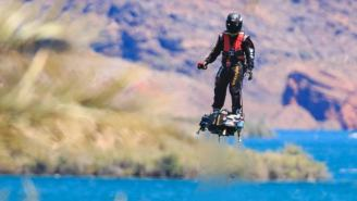 Incredible Hoverboard Soaring Over Lake Havasu Would Even Impress Marty McFly
