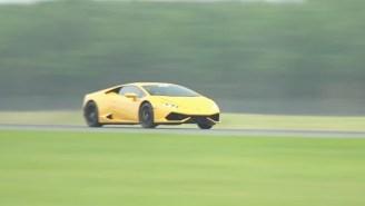 Twin-Turbo Lamborghini Huracan Blows Away Half-Mile World Record At 250+ MPH