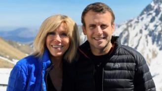 Possible Next President Of France Fell In Love With His Wife When He Was 15 Then Married Her