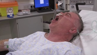 Man On Ketamine Has His Ankle Reset Before Surgery And LOVES It, Has Best Reaction Ever