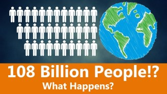 Here's How Crowded The Earth Would Be If Every Human Who Ever Lived Never Died