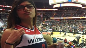 Salty Mia Khalifa Gets Trolled Hard By Celtics Fans After Wizards Lose Game 7