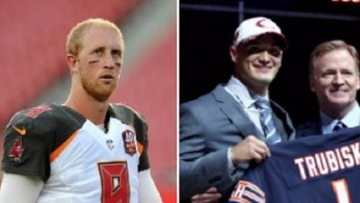 Salty Mike Glennon Reportedly Felt Like 'He Was Cheated On' When The Bears Drafted Mitch Trubisky