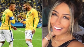 Neymar's Hottie Sister Is Dating His Teammate And That Should Make For Some Pretty Interesting Locker Room Talk