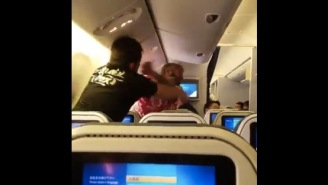A Crazy Fist Fight Between Two Dudes Erupted On A Flight From Japan To Los Angeles
