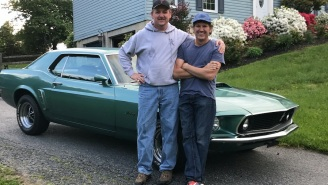 Man Surprises Older Brother With Restored '69 Mustang Over 30 Years After His Original Dream Car Was Destroyed