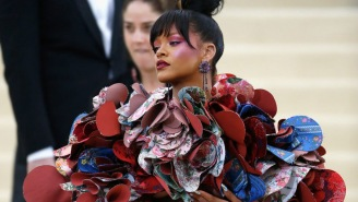 Rihanna's Crazy-Looking Outfit At The Met Gala Spawned May's First Set Of Grade A Memes