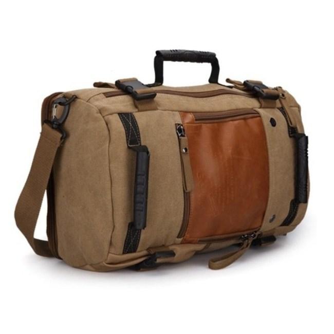 Rucksack Canvas Backpack Main