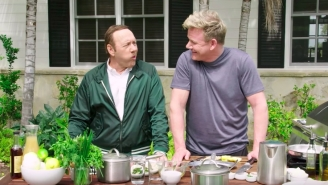 Kevin Spacey Had A Swear-Off With Gordon Ramsay — Guess Who Won?