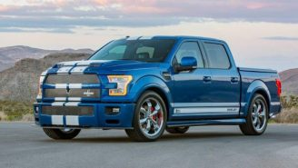 2017 Shelby American F-150 Super Snake Is A Road-Melting Piece Of Supercharged Americana