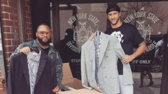 Colin Kaepernick Keeps Giving Back, Handed Out Suits Outside A NYC Parole Office Over The Weekend