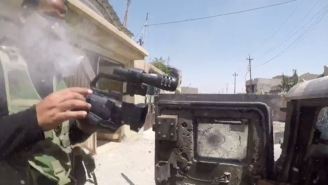 Moment Journalist's Life Was Saved By GoPro By Stopping Bullet From ISIS Sniper