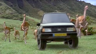 Special Effects Artist Creates The Most Badass Video Ever To Tell His '96 Suzuki Vitara