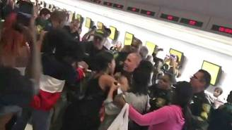 Chaos Erupts At Florida Airport After Spirit Airlines Flights Were Canceled
