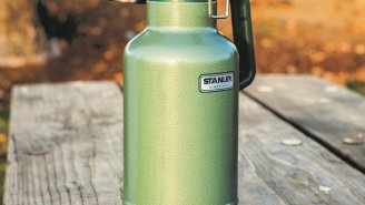 This 64 oz. Stanley Classic Growler Is Perfect For Beers Or Less Awesome Drinks