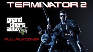 Goddamn Mastermind Created Hour-Long Recreation Of 'Terminator 2' In GTA V