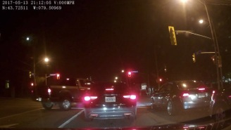 Car's Dash Cam Captures Undercover Arrest So Here's What That Craziness Looks Like In Real Life