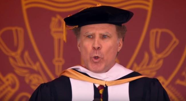 Will Ferrell USC Commencement Speech