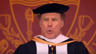 Will Ferrell Belts Out Whitney Houston's 'I Will Always Love You' At USC Commencement Speech