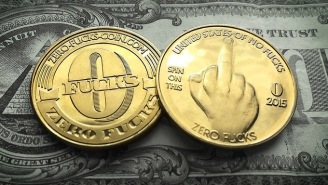 If You've Ever Wanted To LITERALLY Give 'Zero F*cks' Now You Can With These Sweet New Coins