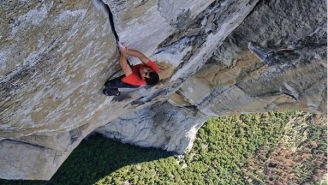 Rock Climbing Legend Achieves The 'Moon Landing' Of Climbing By Scaling Yosemite's El Capitan Without A Rope