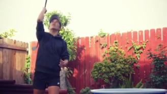 Tania Tare Could Beat You In Beer Pong With Golf Trick Shots