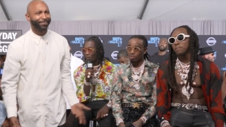 Things Got Super Awkward At The BETs After Joe Budden Dropped His Mic And Walked Away From A Migos Interview
