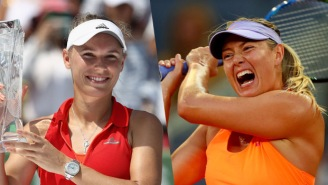 Caroline Wozniacki And Maria Sharapova Are Beefing HARD And It's Making Tennis Great Again