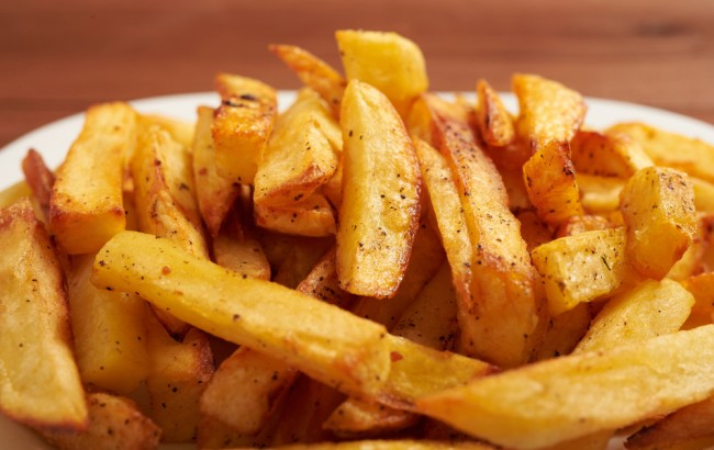 chart ranking french fries