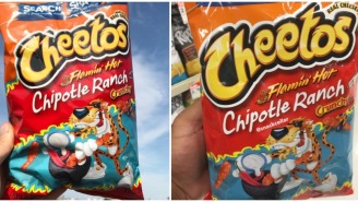 Cheetos Is Changing The Snack Food Game This Summer With A New Flamin' Hot Chipotle Ranch Flavor
