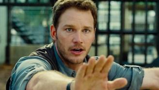 First Image & Teaser Trailer From 'Jurassic World: Fallen Kingdom' Has Chris Pratt Feeding Dinosaurs