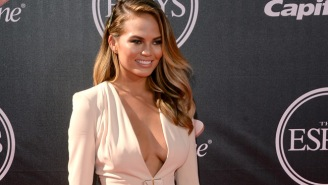 Chrissy Teigen Shared An Old High School Cheerleading Photo And She Hasn't Changed Much Since Then