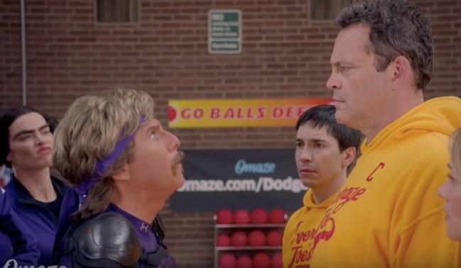 Cast of Dodgeball reunite