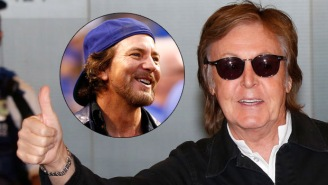 Eddie Vedder Told A Crazy Story About Getting Punched In The Face By Rock Icon Paul McCartney