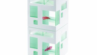 This Stackable Aquarium Is A Hotel For Fish Because Why Just Spoil Dogs And Cats?